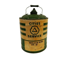CITIES SERVICE KOOLMOTOR U.S. 5 GAL. CAN