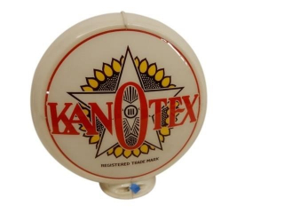 KANOTEX GAS PUMP GLOBE / ONLY ONE LENSE