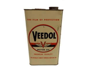 VEEDOL MOTOR OIL IMP. GALLON CAN