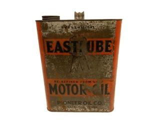 EASTLUBE MOTOR OIL TWO U.S. GALLONS CAN