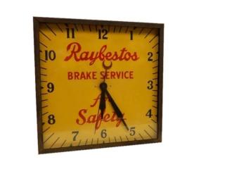 RAYBESTOS BRAKE SERVICE CLOCK