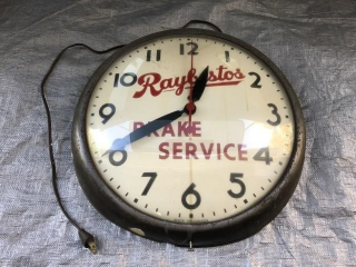"Raybestos Clock (Working) 15"" diameter"