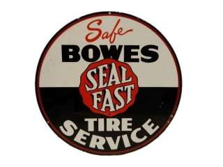 SAFE BOWES SEAL FAST TIRE SERVICE SST SIGN