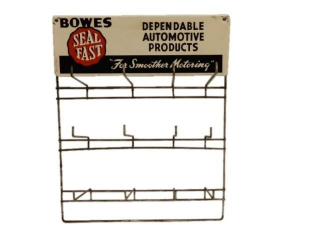 "BOWES SEAL FAST ""FOR SMOOTHER MOTORING PARTS RACK"