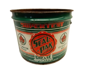 SUPERTEST SEAL-PAK TWENTY-FIVE POUNDS GREASE PAIL