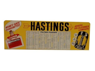 HASTINGS GUARANTEE SST RACK TOP SIGN