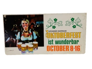 KITCHENER-WATERLOO OKTOBERFEST DST SIGN
