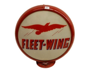 FLEET-WING GAS PUMP GLOBE 13.5""