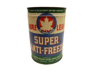 MAPLE LEAF SUPER ANTI-FREEZE IMP. GAL. CAN