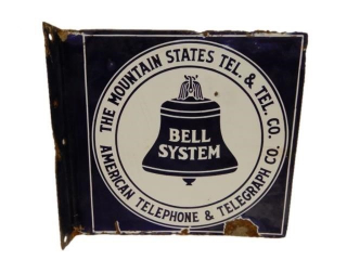 BELL SYSTEM AMERICAN TELEPHONE A.T.T.PORC. FLANGE