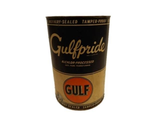 GULF GULFPRIDE FIVE U.S. QT. CAN