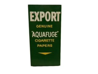 "EXPORT ""AQUAFUGE"" CIGARETTE METAL PAPER DISPENSER"