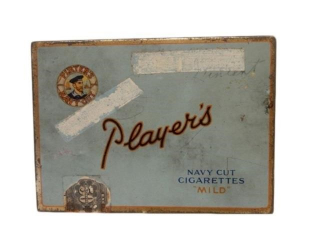 PLAYER'S NAVY CUT CIGARETTES MILD  FLAT 50