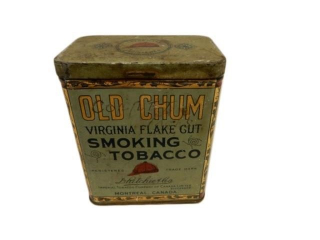 OLD CHUM SMOKING TOBACCO 1/2 LB. CAN