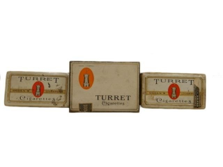 GROUPING OF 3 TURRET CIGARETTES  FLAT 50 & 100