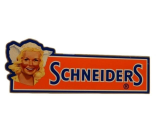 SCHNEIDERS DUTCH GIRL S/S PLEXIGLASS SIGN