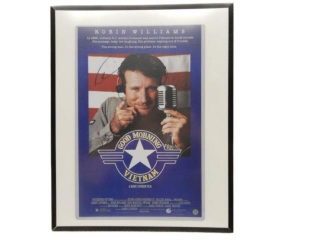 1965 ROBIN WILLIAMS GOOD MORNING VIETNAM POSTER