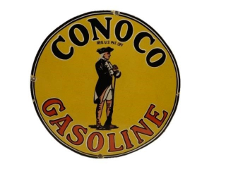 CONOCO GASOLINE SSP SIGN