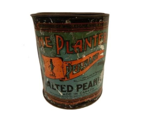 1930'S PLANTERS  PENNANT  PEANUTS 10 LBS  CAN
