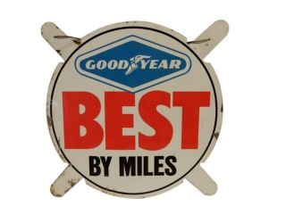 RARE GOODYEAR BEST BY MILES SST TIRE INSERT