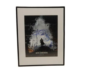2013 STAR TREK INTO DARKNESS SIGNED PRINT