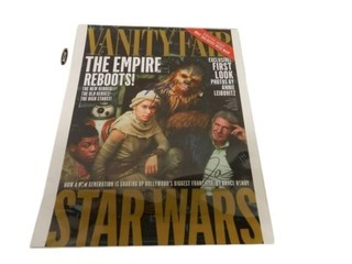 VANITY FAIR STAR WARS SIGNED COVER ONLY