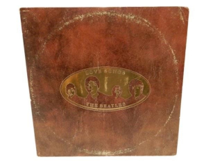1977 BEATLES LOVE SONGS EMBOSSED RECORD HOLDER
