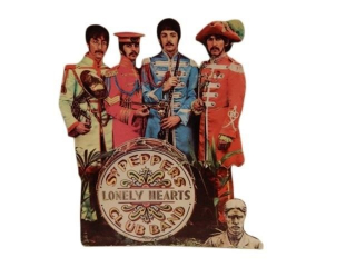 1967 BEATLES SGT. PEPPERS LONELY HEARTS CLUB  ADV.
