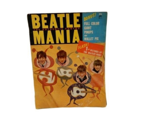 1964 BEATLE MANIA 50 CENT MAGAZINE