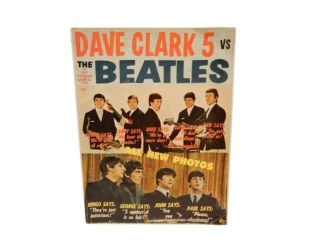 1964 ANNUAL DAVE CLARK 5 VS BEATLES MAGAZINE