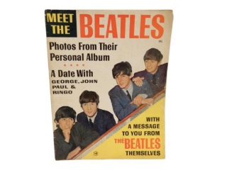 1963 MEET THE BEATLES 35 CENT MAGAZINE