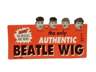 THE ONLY AUTHENTIC BEATLE WIG/ PACKAGE ONLY