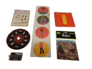 LOT OF BEATLES COLLECTIBLES