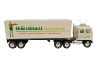1984 NYLINT GREEN GIANT CORN 18 WHEELER TRUCK