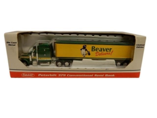 LIBERTY PETERBILT BEAVER SEMI BANK / BOX