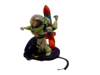 DISNEY BUZZ LIGHTYEAR TELEPHONE
