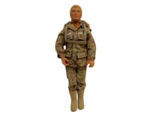 "G.I. JOE ""DUKE"" U.S. ARMY ACTION FIGURE/ NO BOX"