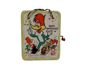 1963 MATTEL WOODY WOODPECKER MUSIC MAKER