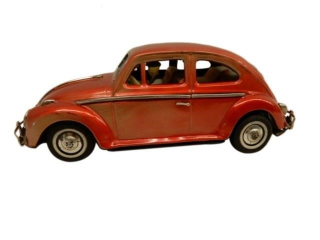 VINTAGE TIN LITHO BATTERY OPERATED VOLKSWAGON