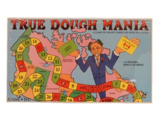 "TRUE DOUGH MANIA  ""GAME OF CHANCE-NO CHANCE"" -BOX"