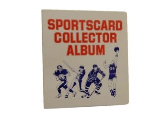 1972 TEAM CANADA SPORTS CARD HOCKEY  ALBUM