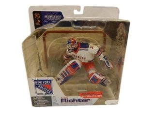 NEW YORK RANGERS MIKE RICHTER GOALIE FIGURINE