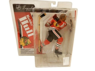 NHL LEGENDS BOBBY HULL CHICAGO BLACK HAWKS FIGURE