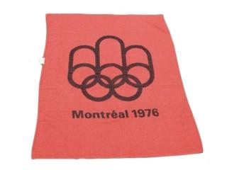 1976 MONTREAL OLYMPICS SOUVENIR BLANKET