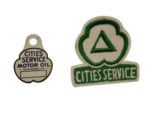 LOT OF 2 CITIES SERVICE COLLECTIBLES