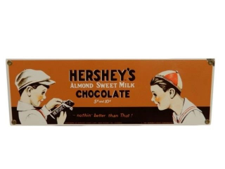 1991 HERSHEY'S MILK CHOCOLATE SSP SIGN