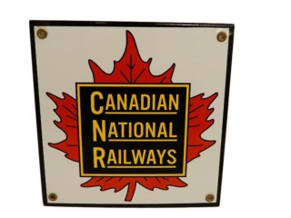 CANADIAN NATIONAL RAILWAYS SSP SIGN - REPRO