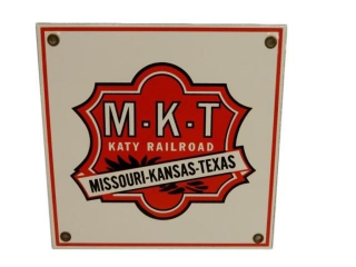 M-K-T KATY RAILROAD SSP SIGN - REPRO