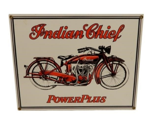 INDIAN CHIEF POWER PLUS SSP SIGN - REPRO