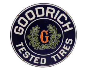 1987 GOODRICH TESTED TIRES SSP SIGN